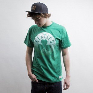 Mitchell & Ness t-shirt Boston Celtics green Gradient Infill Traditional
