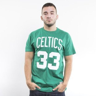 Mitchell & Ness t-shirt  Boston Celtics green Player Name & Number Traditional