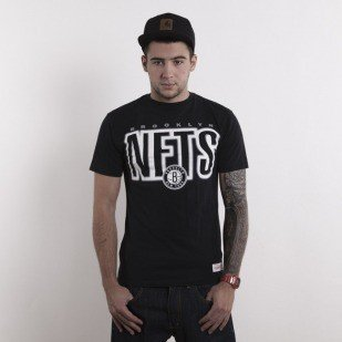 Mitchell & Ness t-shirt Brooklyn Nets black Retro Blur