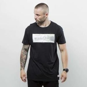Mitchell & Ness t-shirt M&N Own Brand black Space Camo Long Lenght