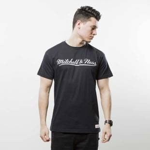 Mitchell & Ness t-shirt Own Brand black / white M&N Script Logo