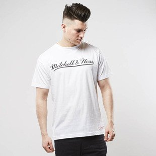 Mitchell & Ness t-shirt Own Brand white / black M&N Script Logo