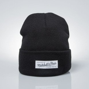 Mitchell & Ness winter baenie M&N black EU342 NOSTALGIA CUFF KNIT