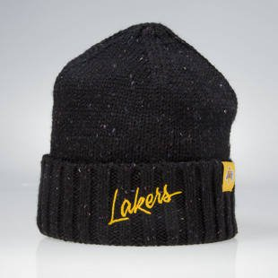 Mitchell & Ness winter beanie Los Angeles Lakers black KW19Z TC Heather Script