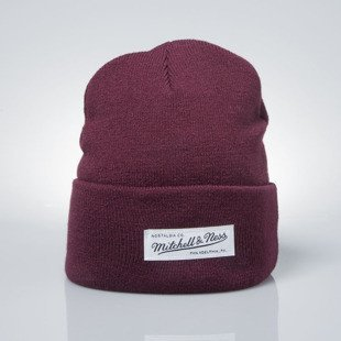 Mitchell & Ness winter beanie M&N burgundy Nostalgia Cuff Knit