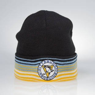 Mitchell & Ness winter beanie Pittsburgh Penguins black EU256 Linear
