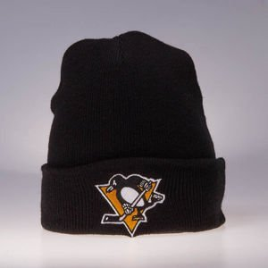 Mitchell & Ness winter beanie Pittsburgh Penguins black Team Logo Cuff Knit