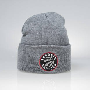 Mitchell & Ness winter beanie Toronto Raptors grey Team Logo Cuff EU785