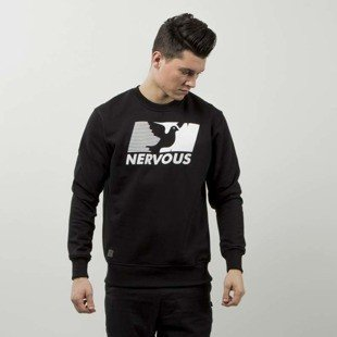 Nervous sweatshirt Broadcast black