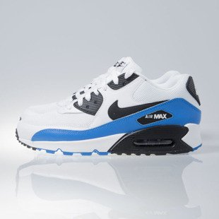 Nike Air Max 90 Essential white / black-photo blue-black (537384-124)