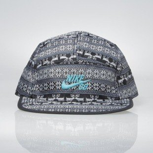 Nike SB Warmth 5-panel anthracite / black / dusty cactus 654401-060