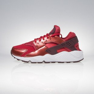 Nike WMNS Air Huarache Run university red / night maroon / white 634835-605