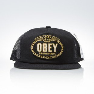 Obey Chains Trucker black