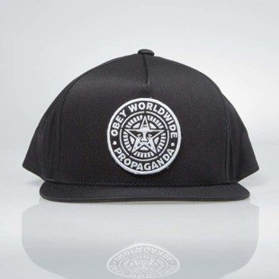 Obey Classic Patch Snapback Cap black