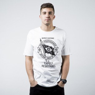 Obey Respect Existence Tee white