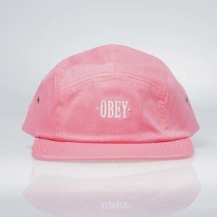 Obey Sonora 5 Panel Cap coral