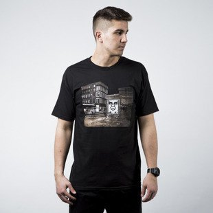 Obey T-shirt Bus Photo black