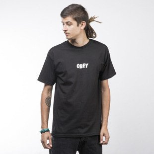 Obey T-shirt Jumbled black
