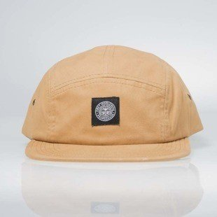 Obey Tomas 5 Panel Cap light khaki