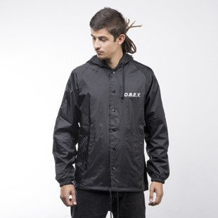 Obey jacket O.B.E.Y. black