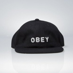 Obey strapback 6 Panel Afton black
