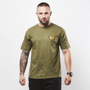 Obey t-shirt Obey Chaos & Dissent military olive