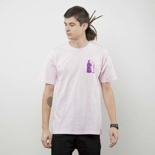 Obey t-shirt Obey Creepin' Death pink