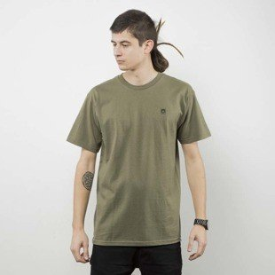 Obey t-shirt Obey Half Face Mil Spec military olive