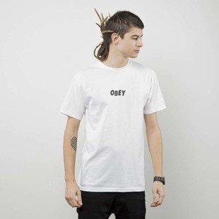 Obey t-shirt Obey Jumbled white