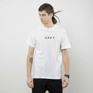 Obey t-shirt Obey Type Tee white