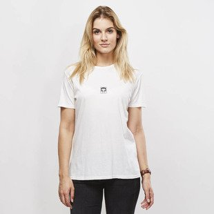 Obey t-shirt WMNS Obey Half Face gardenia
