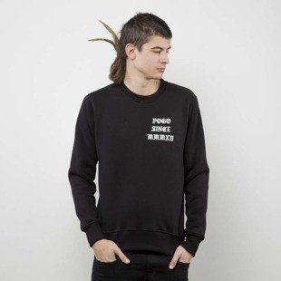 POGO Crewneck Love Hate black