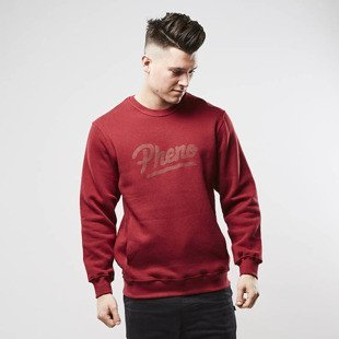 Phenotype sweatshirt Tonal Pheno Crewneck maroon