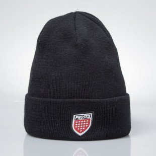 Prosto Klasyk Winter Cap Shield black