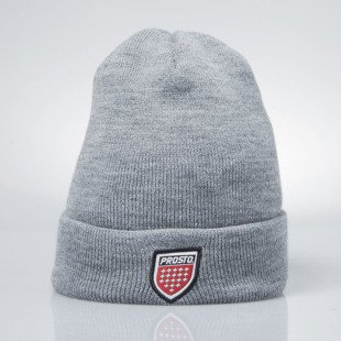 Prosto Klasyk Winter Cap Shield gray