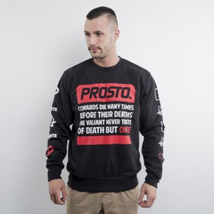 Prosto Sweatshirt Shakespeare crewneck black
