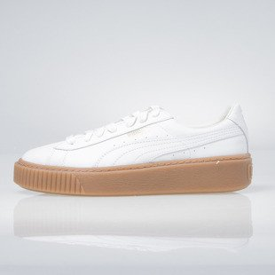 Puma Basket Platform Core white 364040-01