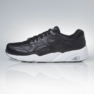 Puma R698 Core Leather black-black-drizzle (360601-02)