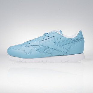 Reebok Classic CL Leather Seasonal II Women crisp blue / white AR2804