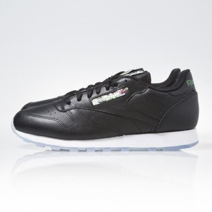 Reebok Classic Leather Black / White / Ice (V67859)