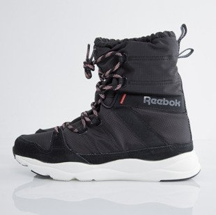 Reebok Classic winter shoes WMNS Russia Boot  blk / walnut / rossette / chalk (V62839)