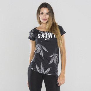 Saint Mass t-shirt Blvck Weed black