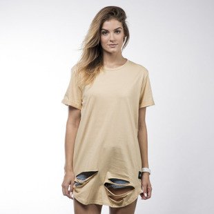 Sixth June t-shirt Sixth June beige WMNS (M1783VTS-BEIG)