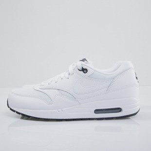 Sneakers buty Nike Air Max 1 Essential white / white - black  (537383-125)