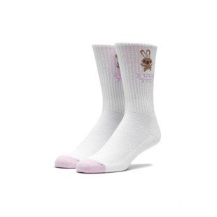 Socks HUF Bunny Cute Sock white