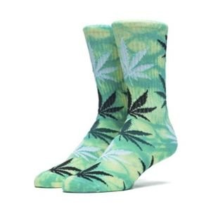 Socks HUF Field Daze Plantlife Crew Sock green