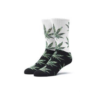 Socks HUF Melange Plantlife Crew Sock black / green