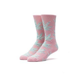 Socks HUF Melange Plantlife Crew Sock salmon / mint