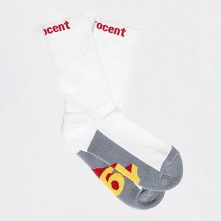 Socks Stoprocent SKD 1999 white / grey / red