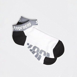 Socks Stoprocent SKK 100 white / grey